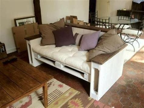 how to make a sofa out of pallets diy pallet couch ideas pallets designs