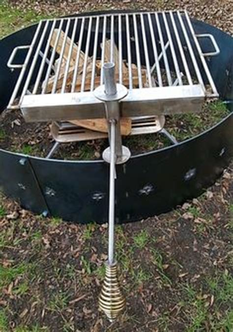 fire pit with swing out grill fire pit swings fire pits and swings on pinterest
