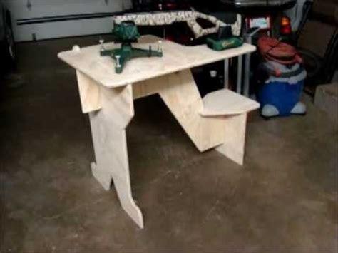 homemade portable shooting bench plans portable shooting bench building plans woodworking