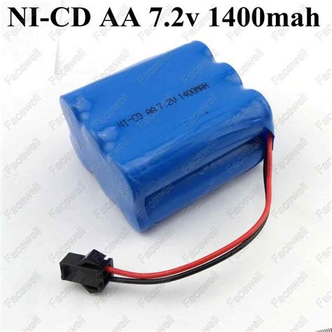 1pc 7 2v 1400mah ni cd battery nicd aa 7 2v rechargeable