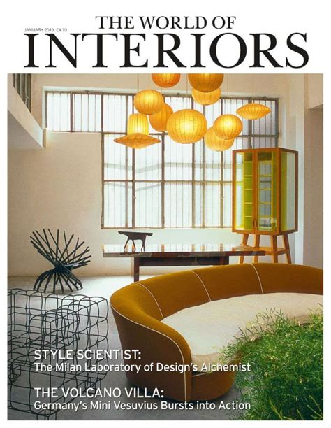 105 best world of interiors magazine covers images on