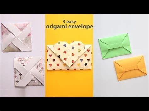 Origami Envelope Easy - 950 best origami envelope tatoo images on