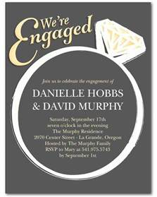 15 engagement invitations martha stewart weddings