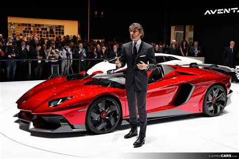 Ceo Of Lamborghini Aventador J Aventador J 23 Hr Image At Lambocars