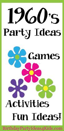 70s party games free printable games and activities for a 1960 party ideas birthday party ideas for kids