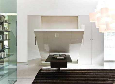 Murphy Bed With Dining Table Awe Inspiring Murphy Bed Ideas That Your Mind Small House Decor
