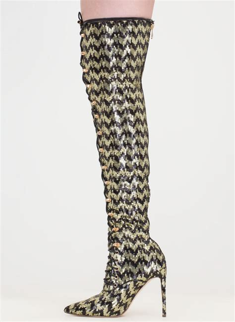 black and gold thigh high boots boot ri