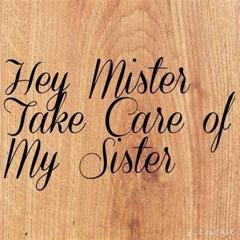 Hey mister my sister brother wedding sign for ring bearer