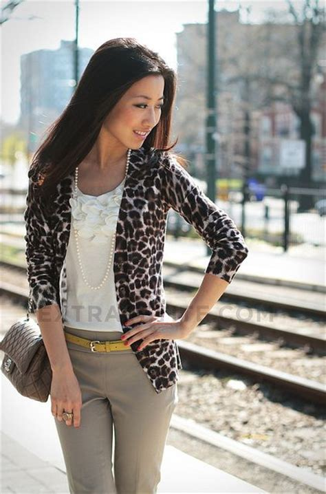 Khaki Leopard Casual Top 26839 399 best casual images on