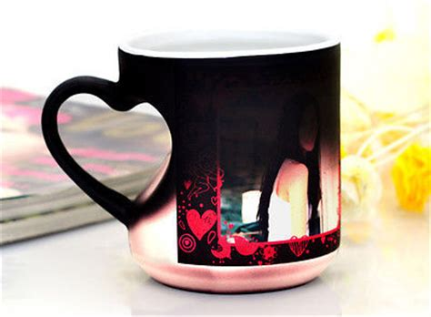 diy color changing mugs make magic mugs for gifts custom logo personalized photo printing creative magic