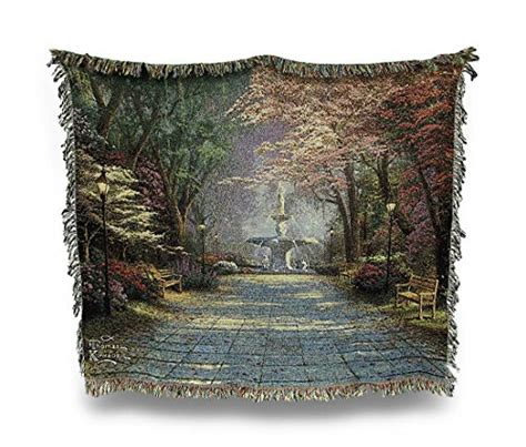 thomas kinkade throw blankets