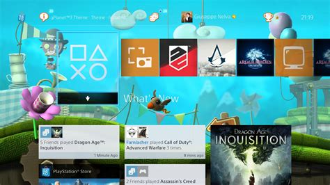 do ps4 themes move novo tema din 226 mico de littlebigplanet 3 lan 231 ado para ps4