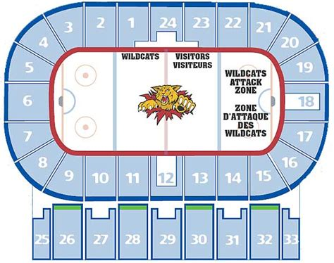 Moncton Coliseum Floor Plan | sports