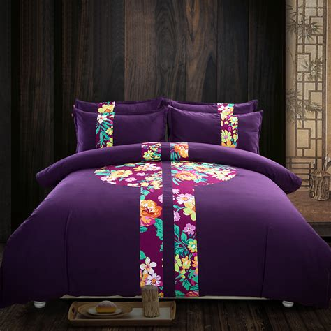 dark purple comforter online get cheap dark purple comforter aliexpress com