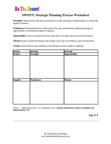 Strategic Planning Worksheet by 15 Best Images Of Event Planning Worksheet Template Free