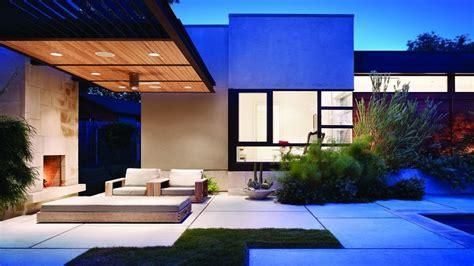 garden house modern  wallpaper architecture