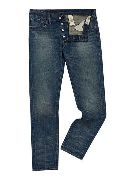 Denim And Supply by Denim Supply Ralph Traverse Jean In Blue For