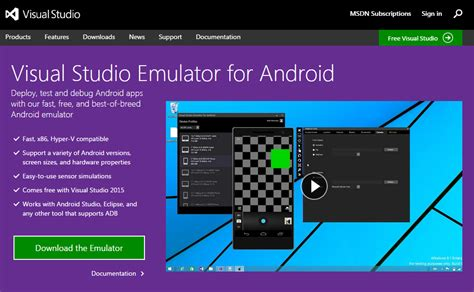 visual studio android 17 best android emulators for windows 10 pc 2017 updated