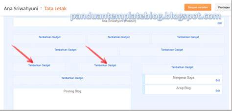 membuat jurnal dua kolom cara membuat dua kolom widget diatas postingan