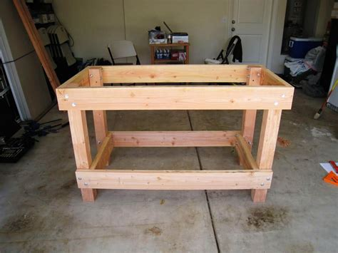 work bench idea diy garage workbench ideas best house design cool garage