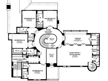 spanish colonial revival house plans spanish mediterranean house plans spanish house plans