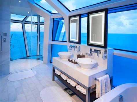 Cabin Bathrooms Ideas the top luxury cruise ship suite bathrooms reasons to cruise