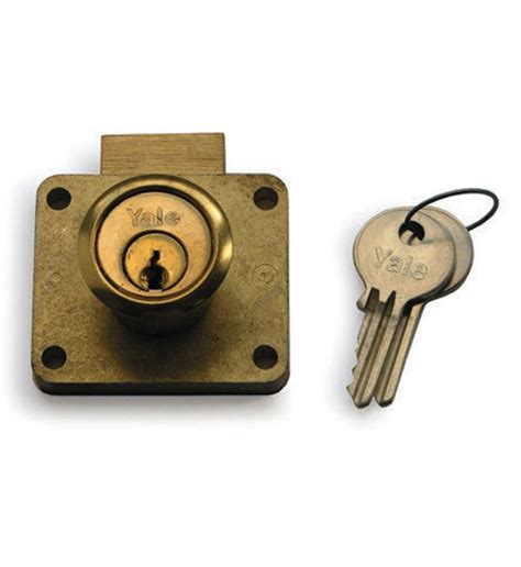 Drawer Lock by Yale Drawer Lock Deadbolt 22mm 066
