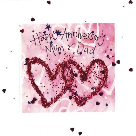 Wedding Anniversary For Parents by Happy Wedding Anniversary Cards For Parents Www Pixshark