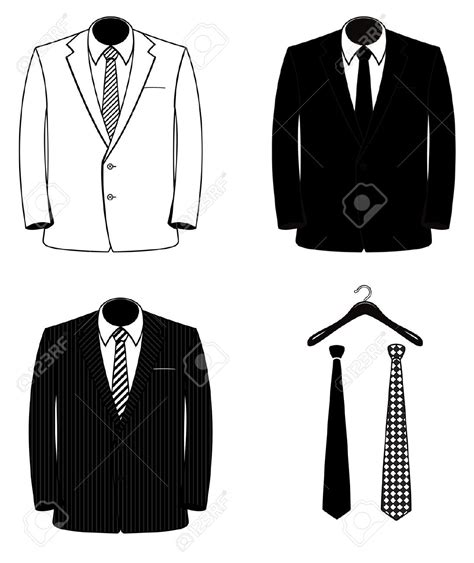suit clipart suit clipart formal wear pencil and in color suit