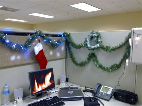 christmas decorations on the computer 166 best cubicle office decorating contest images on ideas