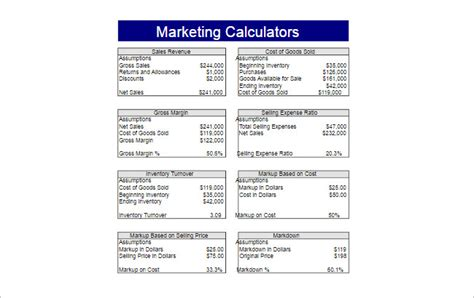 22 Printable Spreadsheet Templates Free Pdf Excel Formats Marketing Spreadsheet Template