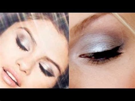 tutorial selena gomez inspired makeup selena gomez inspired foiled metallic eye makeup