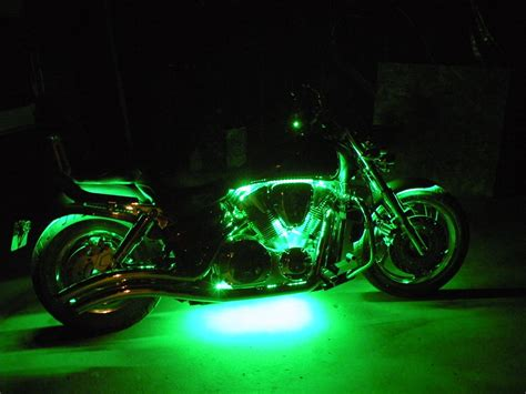 Led Light Strips Motorcycle Motorcycle Engine Led Lighting Kit Single Color 12v Led Light 132 Lumens Ft Led