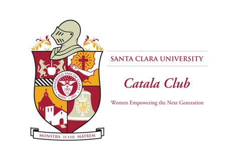 Santa Clara Part Time Mba by Santa Clara Catala Clubcrest Logo Fineline