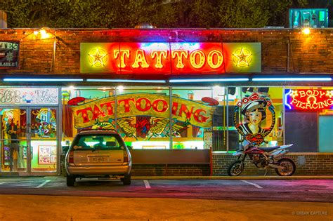ponce de leon avenue tattoo shop atlanta georgia usa