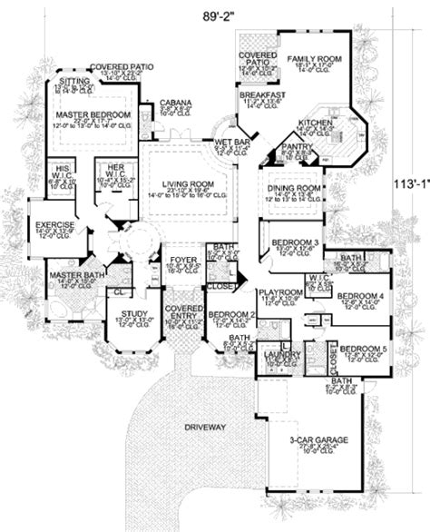 420 sq ft house plans mediterranean style house plan 5 beds 4 5 baths 5131 sq ft plan 420 124 floor plan