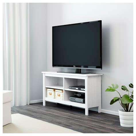 tv bench ideas brusali tv bench white 120x62 cm ikea