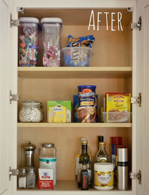 kitchen food cabinet organized kitchen cabinet living well spending less 174