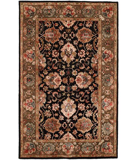 hri rugs collection design kc 284 black hri rugs harounian rugs international