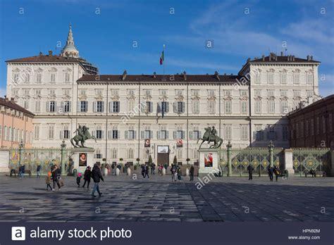 reale torino palazzo reale di torino stockfotos palazzo reale di