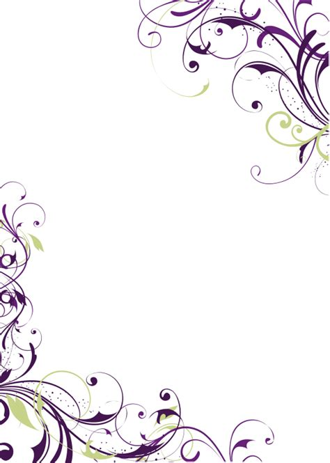 beautiful simple wedding invitation designs clip art be