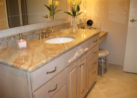 bathroom vanity countertops ideas black and brown living room with comfortable and simple