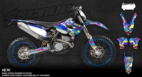 dekor motocross husaberg dekore mx kingz motocross shop