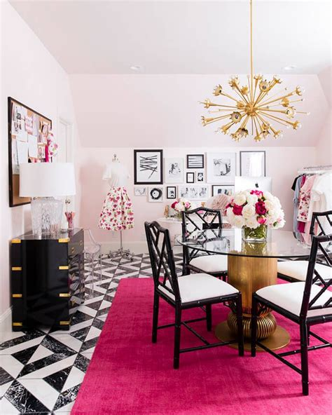 rachel parcell home see how rachel parcell s pink peonies brand inspired one