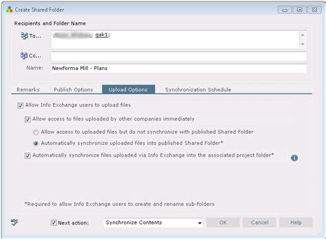 exchange workflow newforma project center eleventh edition help publish