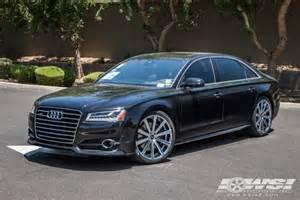 2016 audi a8 with 22 quot gianelle santoneo in chrome wheels