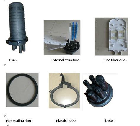 Pipa Kabel Fiber Optik hitam 6 penyambungan kabel fiber optik pc untuk aerial