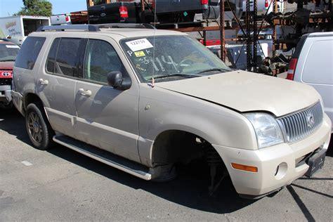 repair anti lock braking 2005 mercury mountaineer auto manual used salvage truck van suv parts sacramento