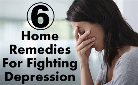 6 best home remedies for fighting depression find home