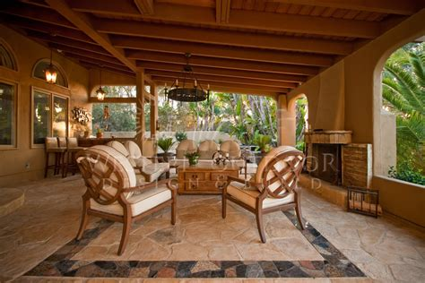 Cabanas Outdoor Living Spaces Gallery Western Outdoor Backyard Living Room Ideas